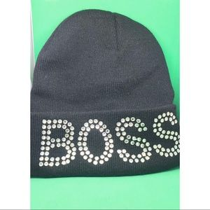 Diamond Studded Boss Skull Cap
